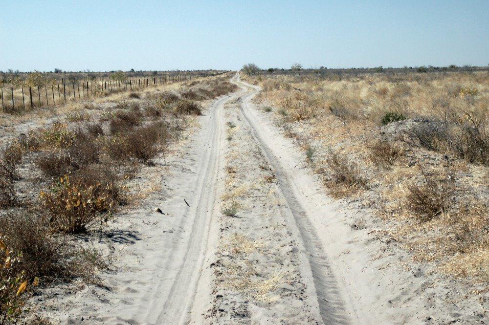 09-11 road along vet fence to use - explorationvacation