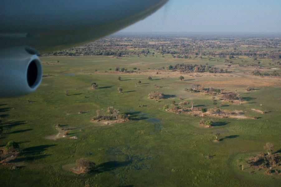 Botswana Okavango - ExplorationVacation - 09-19 aerial6