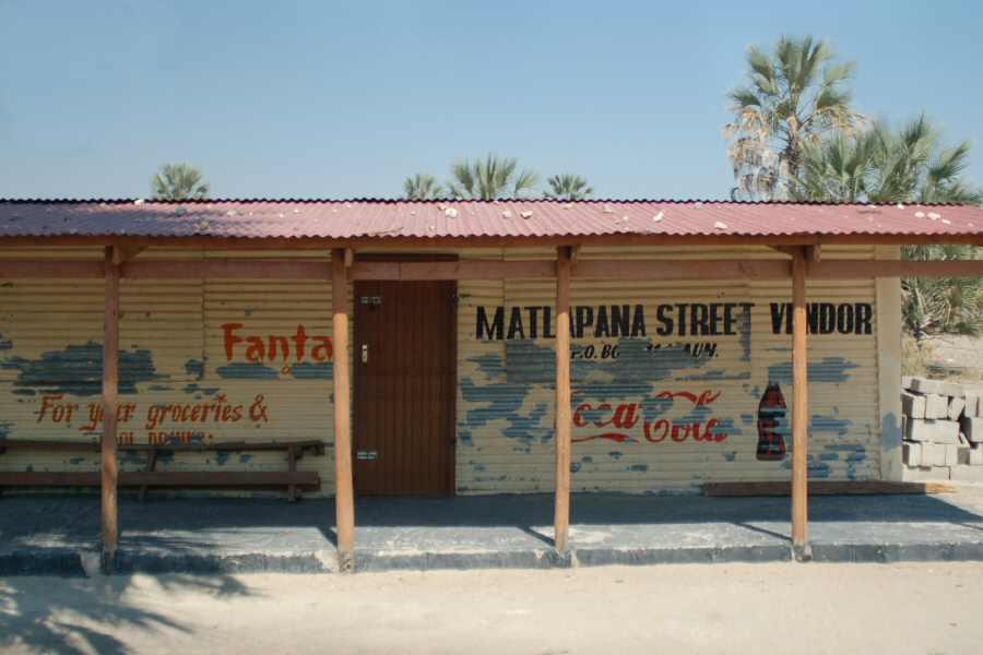 Maun Botswana - ExplorationVacation - 09-20 local store