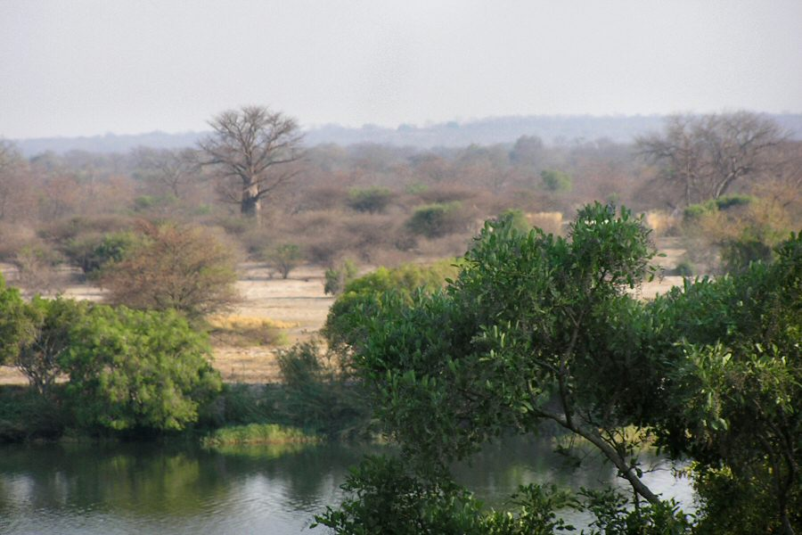 Pb1010021 breakfast view at Kubu - ExplorationVacation