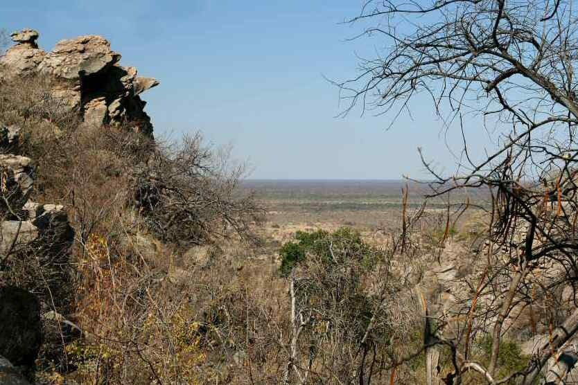 Tsodilo Hills Botswana - ExplorationVacation - View from female hill