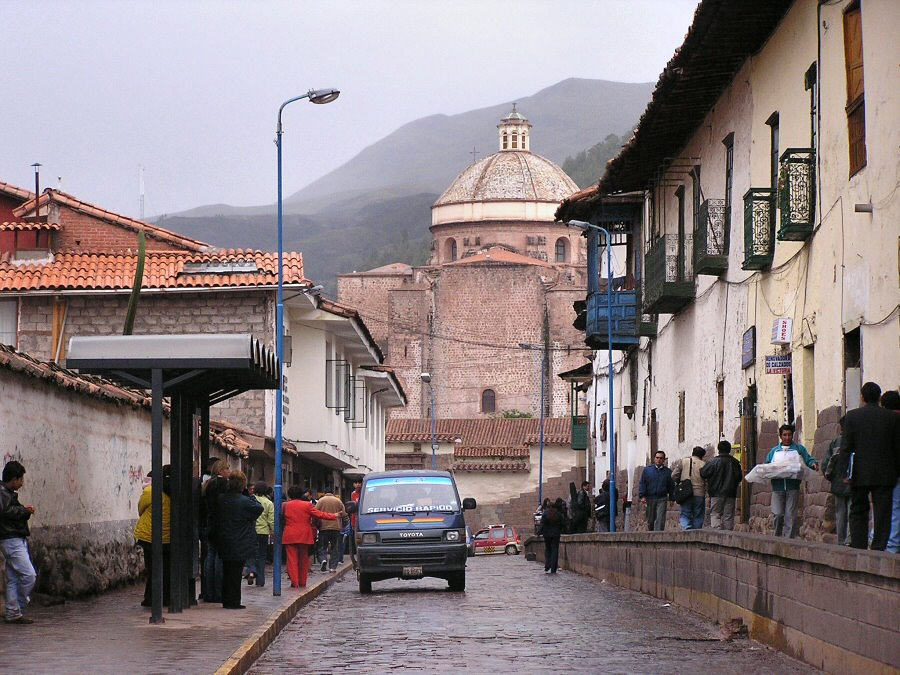 Cuzco Peru - ExplorationVacation P1010087%20street%20scene