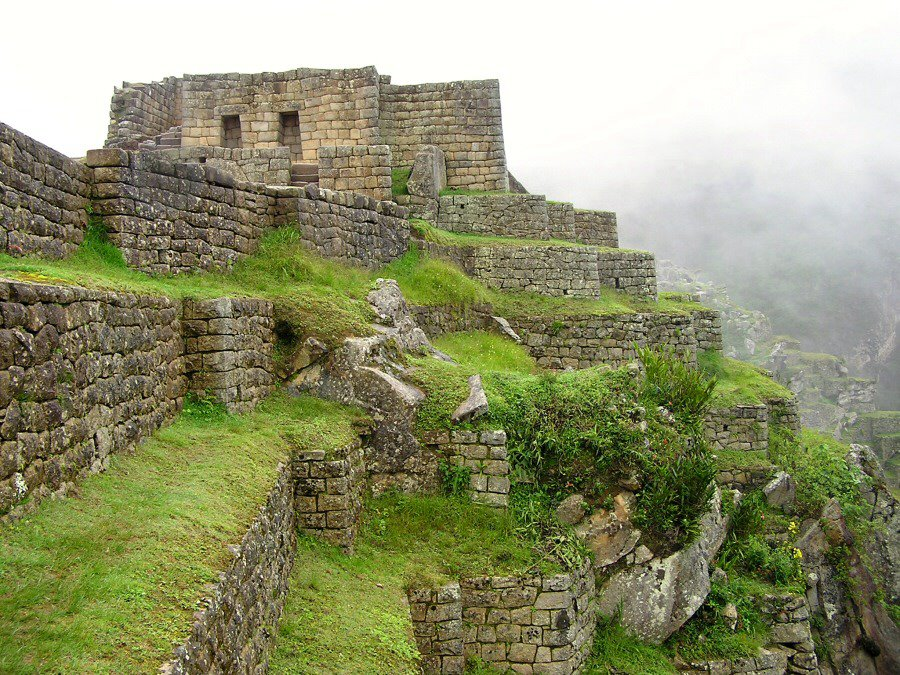 ruins at Mach Picchu