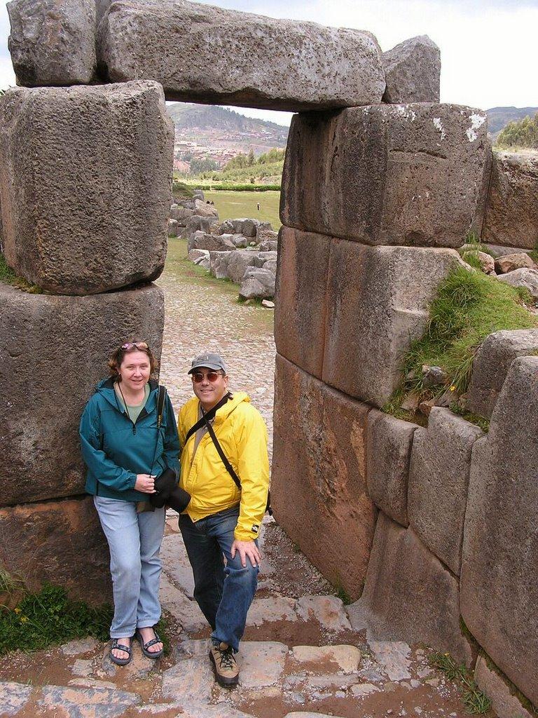 Sacsayhuaman Cuzco Peru - ExplorationVacation P1010066%20Lane%20&%20Cindy