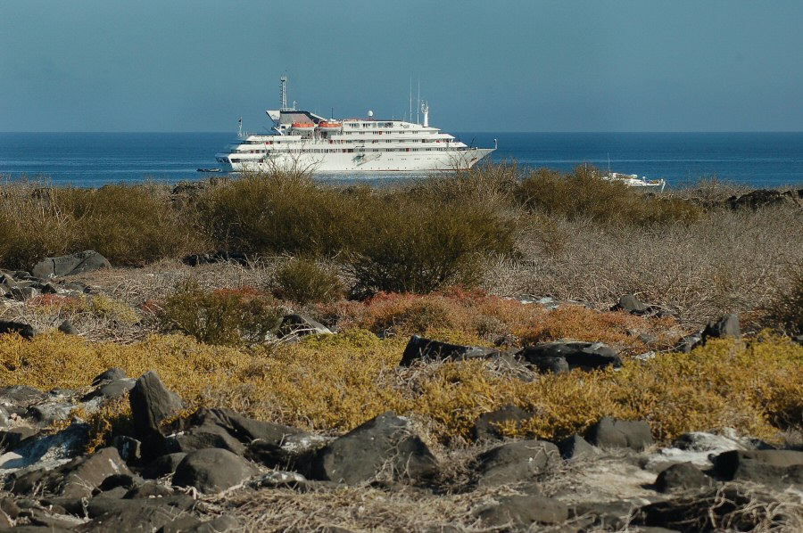 Galapagos cruise ship