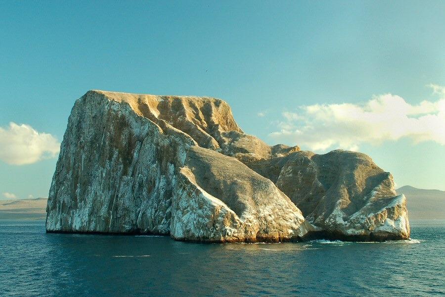 Galapagos Kicker Rock islet