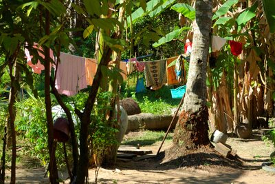 laundry in rural Cambodia