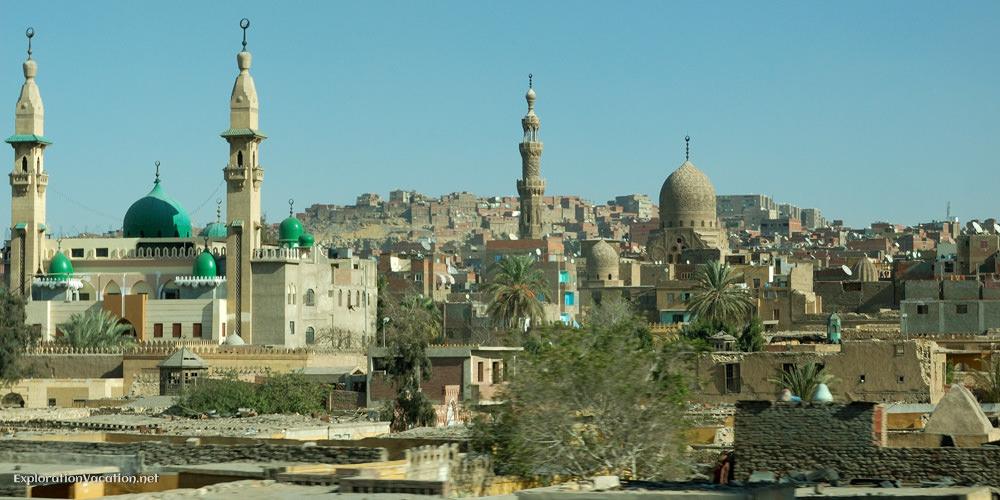 minarets and domes
