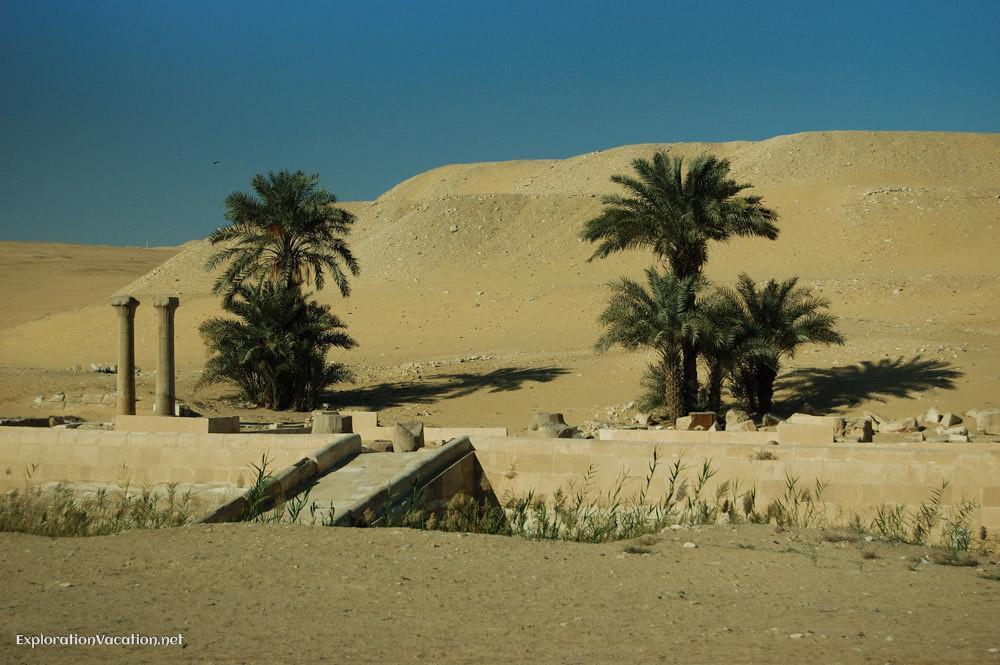 Ruins at Saqqara Egypt