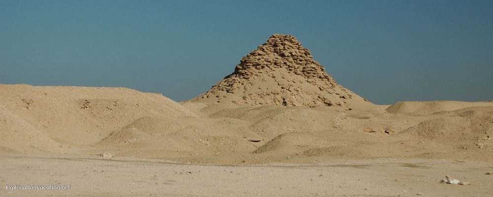 Remains of the pyramid of Userkaf
