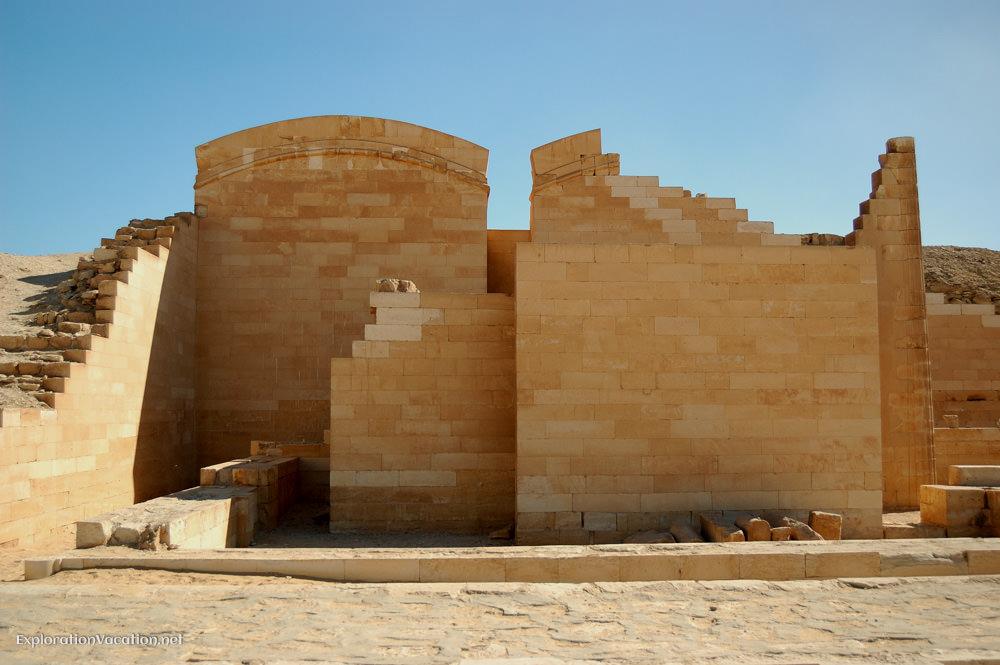 mastaba walls