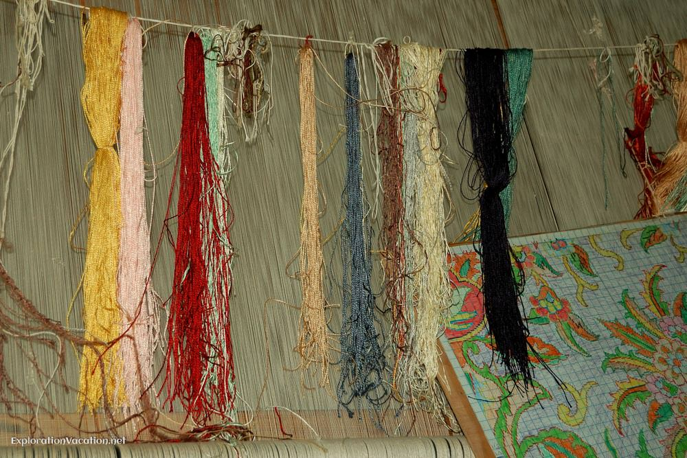 weaving threads