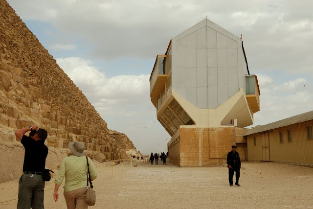 odd shaped building