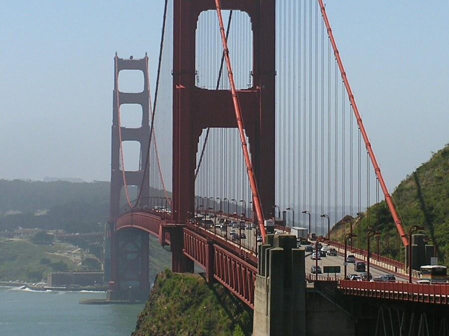 bridge w cars