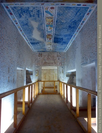 inside of a tomb