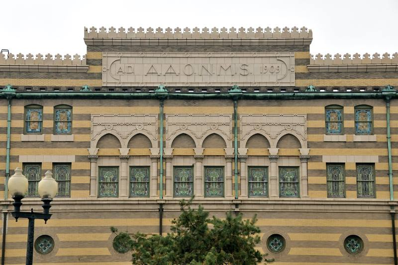 Indianapolis, Indiana, has great architecture, including the lovely and historic Murat theater - ExplorationVacation