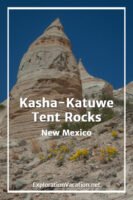 Pin with text for Kasha-Katuwe Tent Rocks
