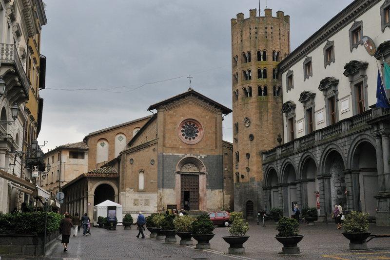 city of Orvieto Italy