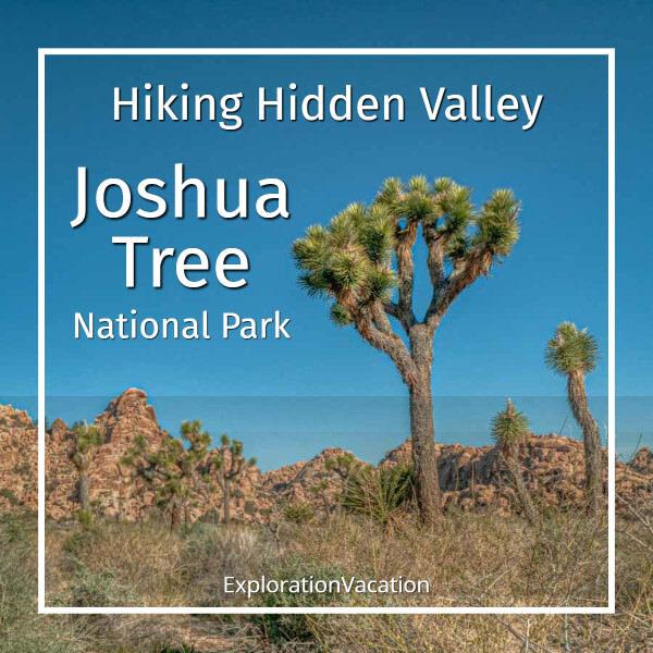 link to post Hiking Hidden Valley Joshua Tree National Park