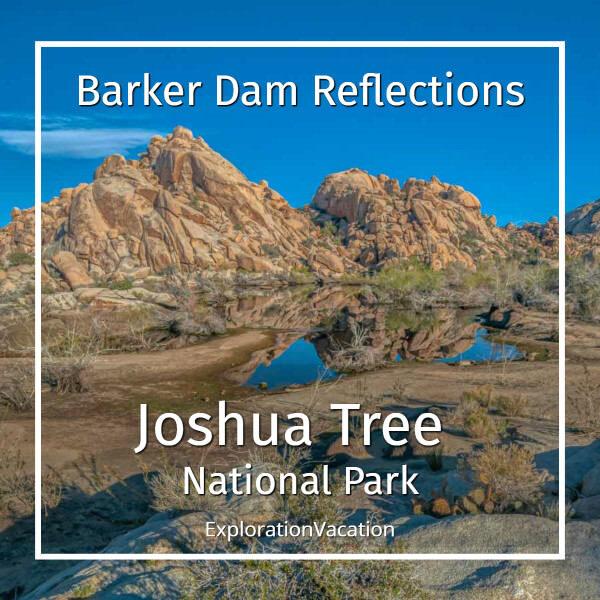 link to Joshua Tree National Park: Barker Dam post