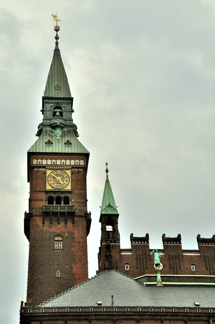 Tower of the Copenhagen City Hall