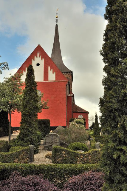 Fuglse church is one of the oldest churches in Lolland, Denmark - ExplorationVacation