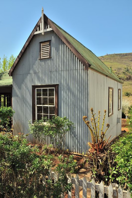 Historic buildings in the restored gold mining town of Pilgrim's Rest, South Africa - ExplorationVacation.net