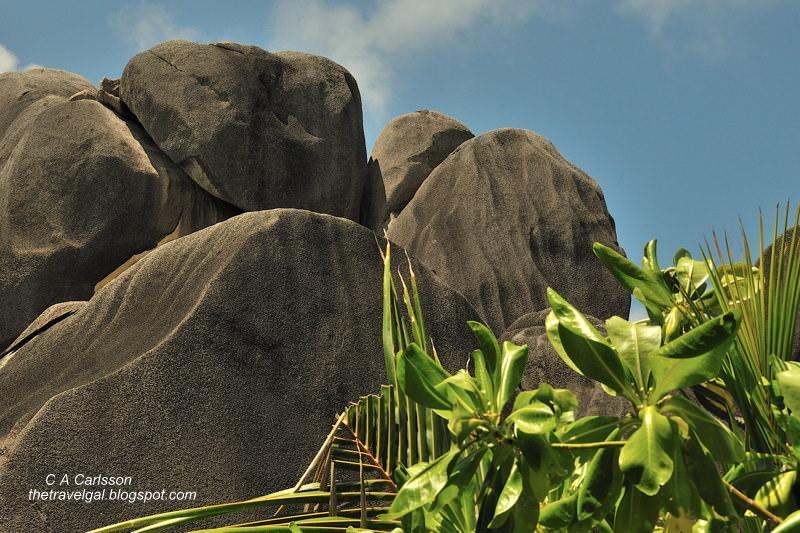 enormous boulders