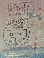Seychelles passport stamp