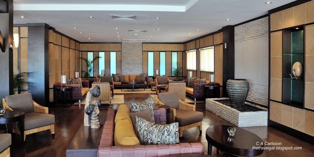 comfortable airport interior