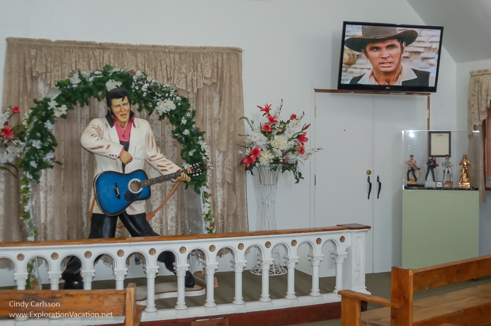 Elvis Chapel Superstition Mountain Museum Arizona - www.ExplortionVacation.net