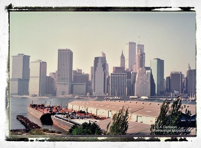 Manhattan skyline with Twin Towers