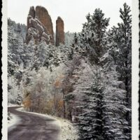 South Dakota Black Hills with Snow - www.ExplorationVacation.net