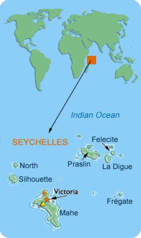 Exploring The Seychelles Exploration Vacation - Seychelles victoria map indian ocean