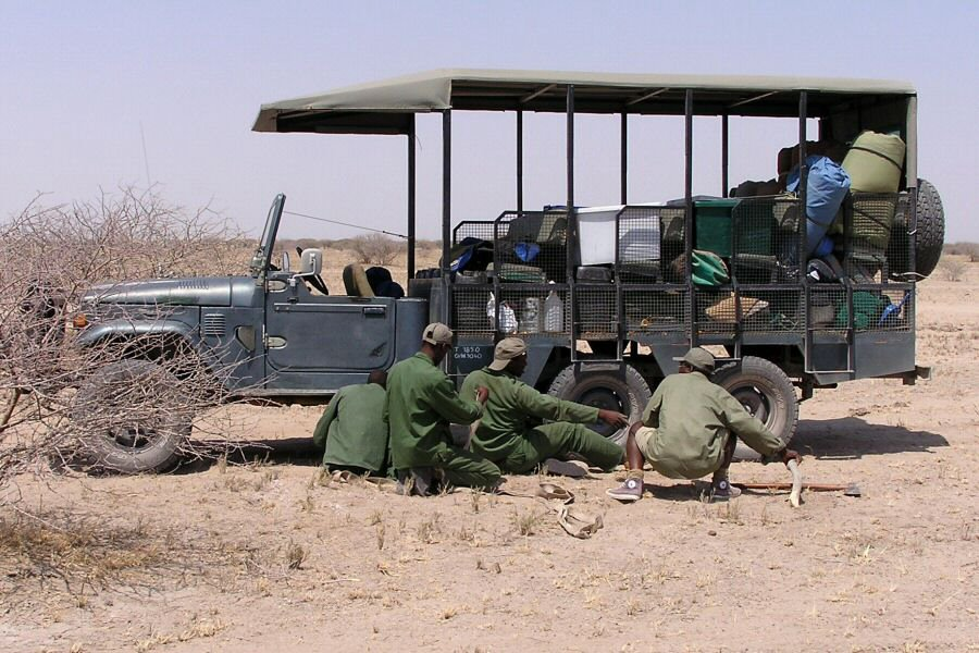 truck repair in Botswana