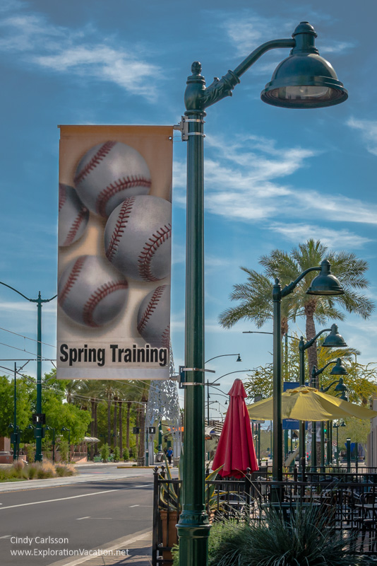 Spring training banner Mesa Arizona - ExplorationVacation.net