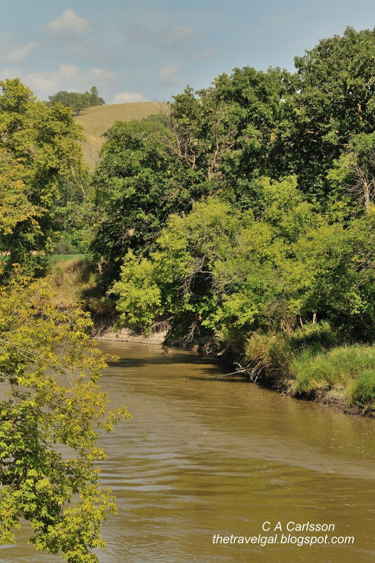 DSC_5161 Sheyenne River in Fort Ransom in North Dakota