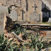 Christian-graveyard in Essaouira