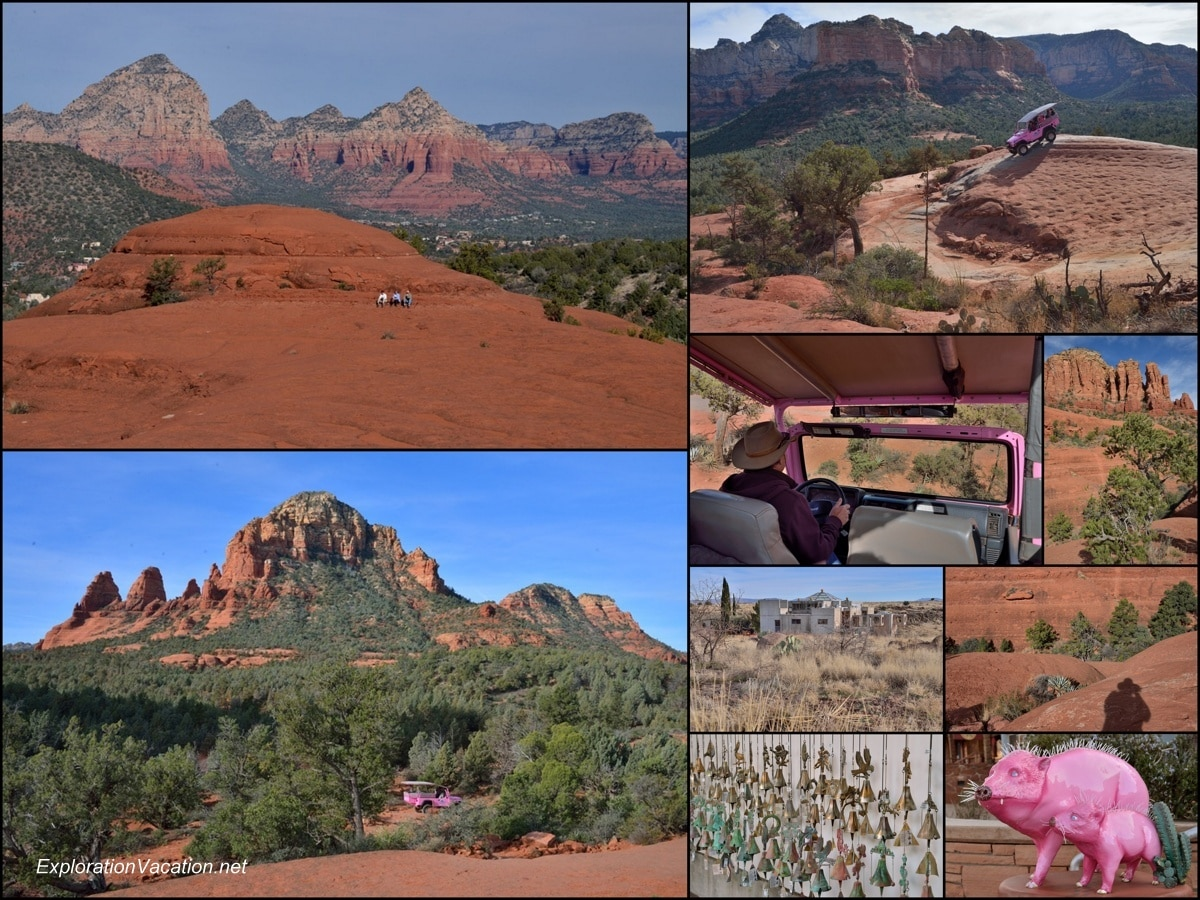 Collage of Red Rock scenery