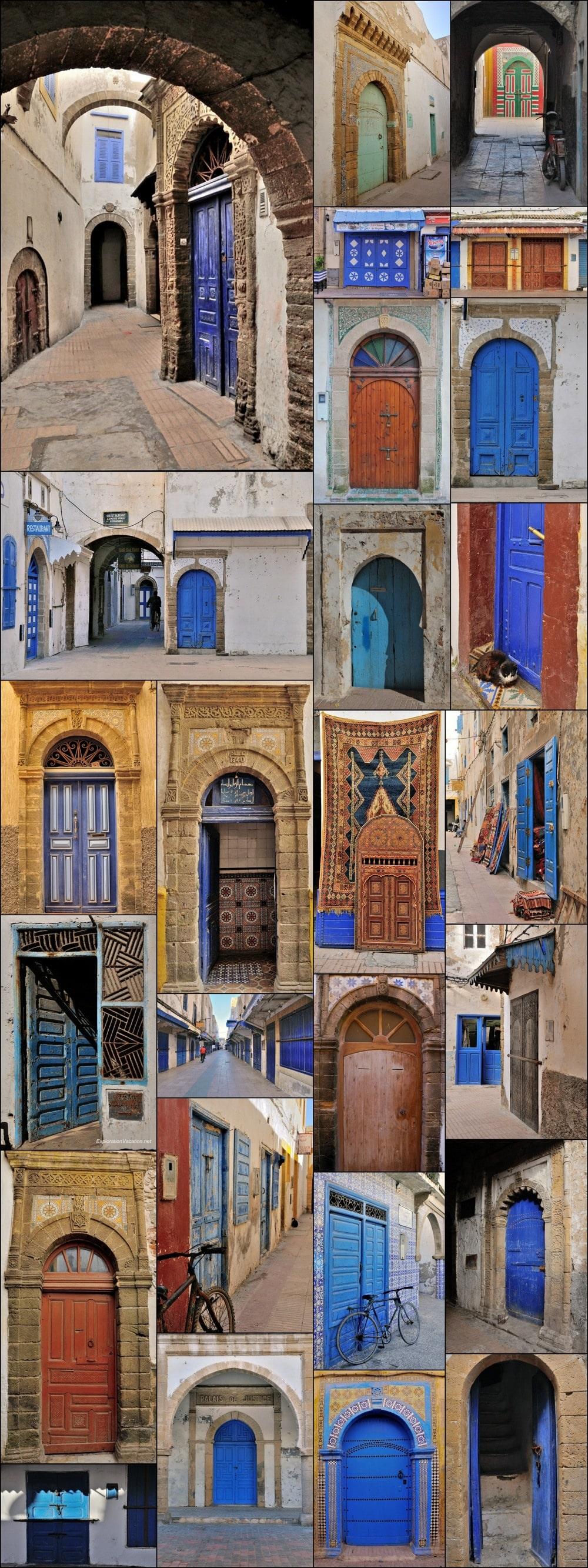 Essaouira Morocco doors 1
