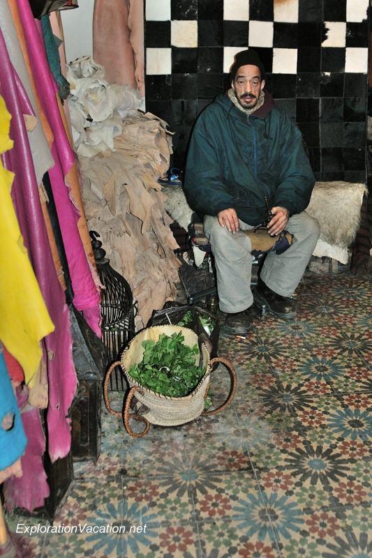Tannery in Fes Morocco -2 DSC_1764