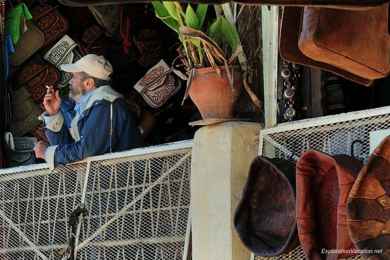 Tannery in Fes Morocco -6 DSC_1747