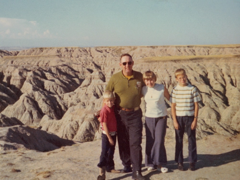 1974 World's Fair Trip - badlands