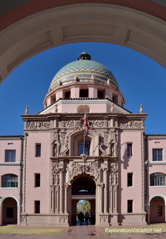 Old Pima County Courthouse Tucson Arizona 20140212-DSC_4478