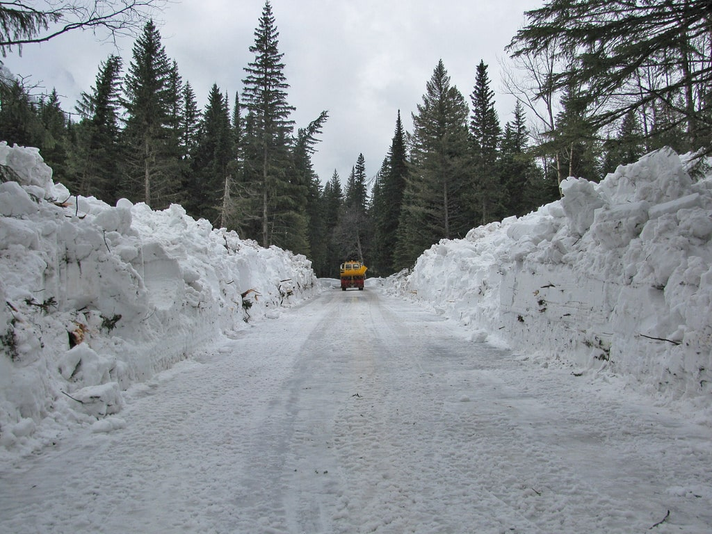 Glacier National park - 1 plowing on 4-16 13901002651_91897fc273_b