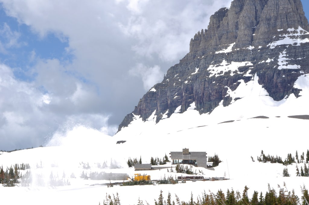 Glacier National Park - Logan Pass Visitor Center 6-11 14219522059_c46f490159_b