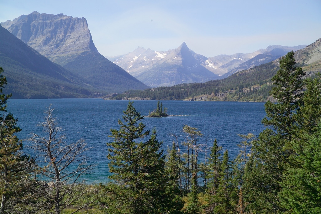 Glacier National Park Wild Goose Island Overlook on St Mary Lake Photo David Restivo NPS 5140255913_4393dc7445_b