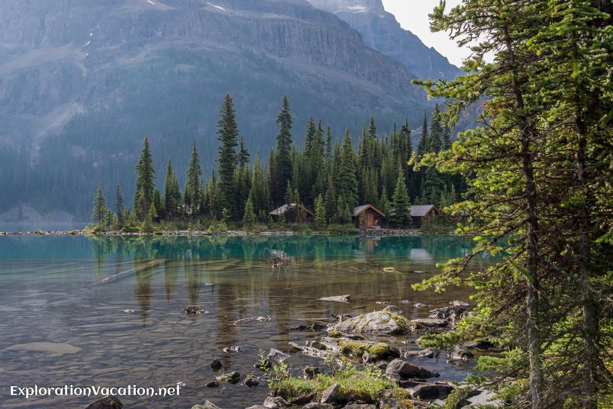 Lake O'Hara in Yoho park, Canada - ExplorationVacation.net