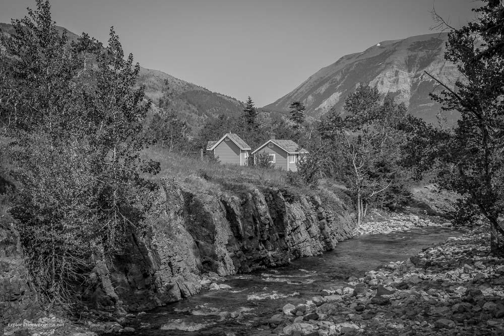 Hiking Red Rock Canyon and Blakison Falls Waterton NP Canada 14 20140713-DSC_3635BW