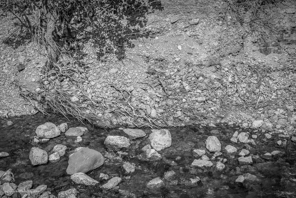Hiking Red Rock Canyon and Blakison Falls Waterton NP Canada 15 20140713-DSC_3636BW